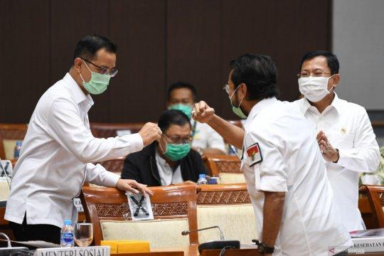 Pemerintah beri empat catatan terhadap RUU Penanggulangan Bencana