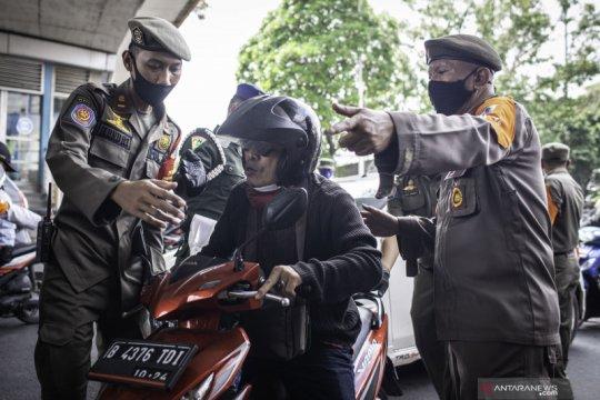 9.144 warga Jakarta Pusat terjaring Operasi Tibmask PSBB
