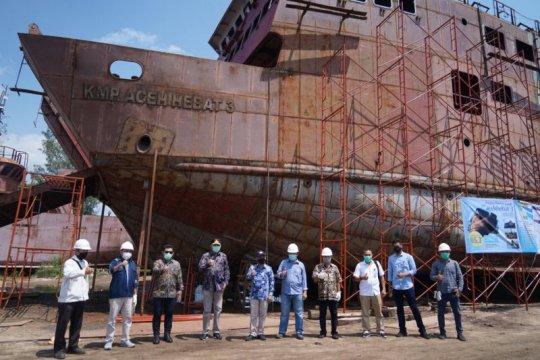 Tiga kapal penyeberangan Pemprov Aceh mulai beroperasi 2021