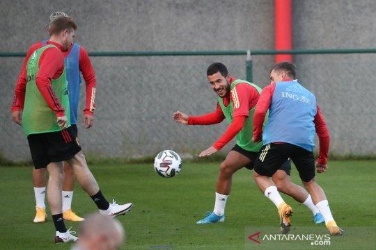 Martinez tak akan ambil risiko mainkan Hazard lawan Islandia
