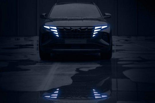 Hyundai Tucson baru dengan perombakan desain hadir bulan ini