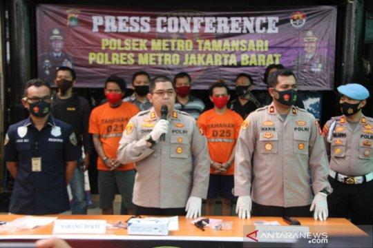 Dua pencuri sepeda motor di Jakarta Barat diringkus