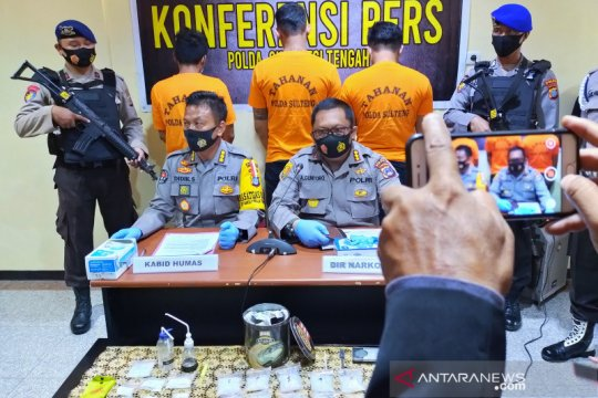 Polisi sebut sabu-sabu 891 gram di Palu berasal dari Malaysia