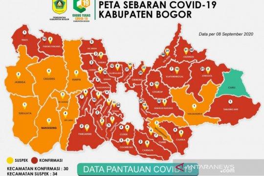 Kasus COVID-19 di Kabupaten Bogor tembus angka 1.000 lebih