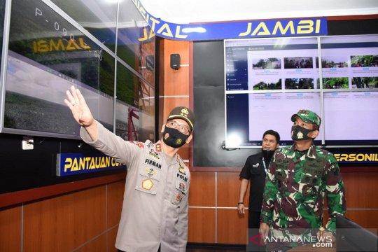 Pangdam II apresiasi Asap Digital Polda Jambi antisipasi karhutla