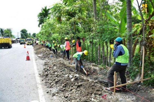 Kementerian PUPR targetkan padat karya tunai 2021 serap 777.206 orang