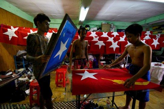 Suu Kyi diperkirakan menangi pemilu Myanmar