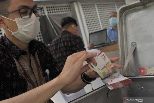 Penukaran uang pecahan HUT ke-75 Republik Indonesia