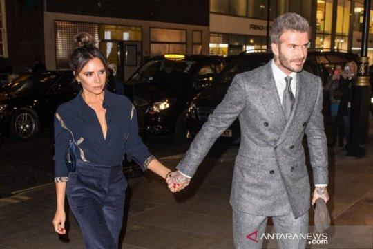 Pandemi buat David Beckham jadi sering temani anak-anaknya berolahraga
