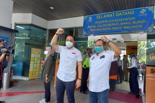 Pilkada Surabaya, Eri-Armuji sebut hasil tes usap COVID-19 negatif