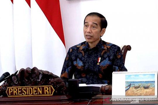 Presiden cermati pelanggaran protokol kesehatan dalam Pilkada