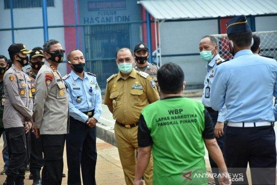 Bangka Belitung canangkan tes usap COVID-19 di lapas narkotika
