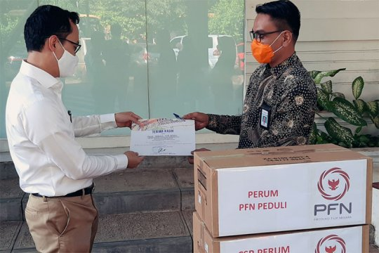 PFN beri bantuan 300 masker N95 untuk tenaga medis RSCM