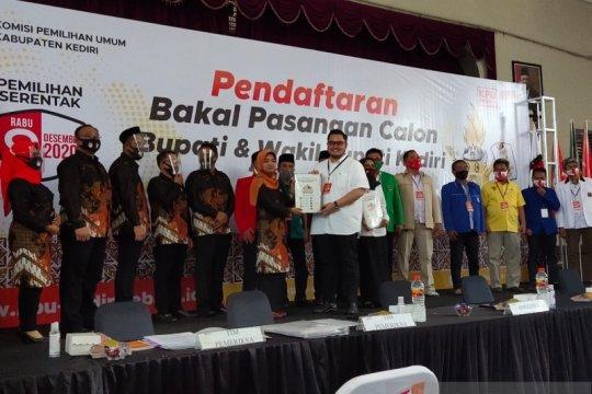 KPU Kabupaten Kediri: Dhito-Dewi belum lakukan tes kesehatan
