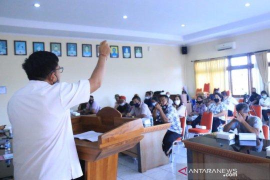 Bawaslu Bali berikan pendidikan politik lewat Gerakan Desa Sadar Hukum