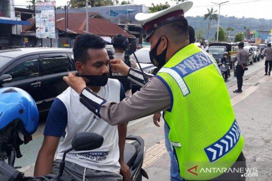 Polda Papua Barat lebih gencar disiplinkan pemakaian masker
