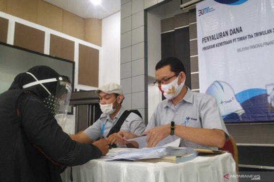 PT Timah kucurkan Rp9,17 miliar bantu UMKM Babel