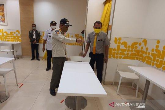 Pedagang kawasan kuliner Agus Salim belum maksimal laksanakan protokol
