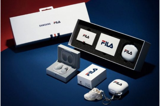 Samsung kolaborasi dengan FILA untuk Galaxy Buds Live
