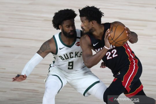 NBA: Miami Heat unggul atas Milwaukee Bucks 4-1