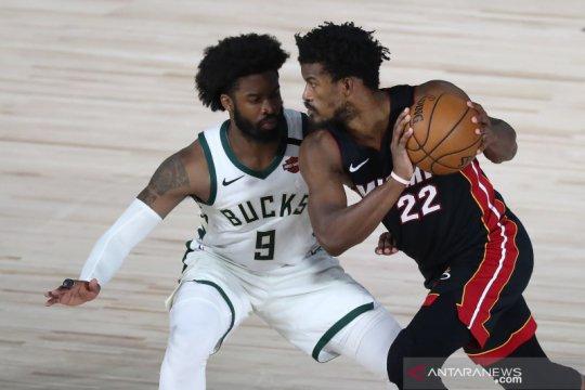 NBA: Miami Heat unggul atas Milwaukee Bucks 4-1