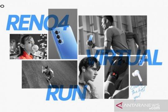 "Sambut Hari Olahraga Nasional, OPPO gelar ""Reno4 Virtual Run"""