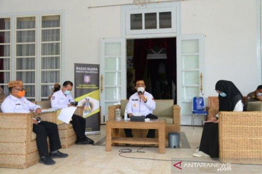 Gubernur Gorontalo ungkap istrinya baru sembuh dari COVID-19