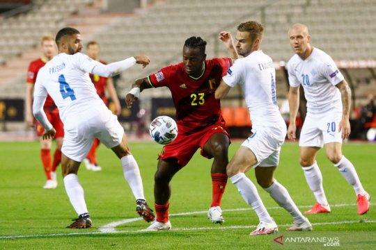 UEFA Nations League: Belgia kalahkan Islandia 5-1