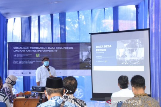 IPB University bantu 12 desa lingkar kampus kembangkan data presisi