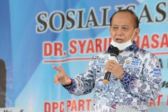 Syarief Hasan tegaskan MPR dengar aspirasi wacana amendemen UUD