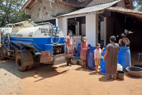 Dua desa di Kabupaten Jepara mulai kesulitan air bersih