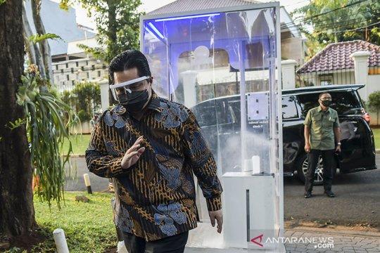 Menteri BUMN melayat ke rumah duka Jakob Oetama