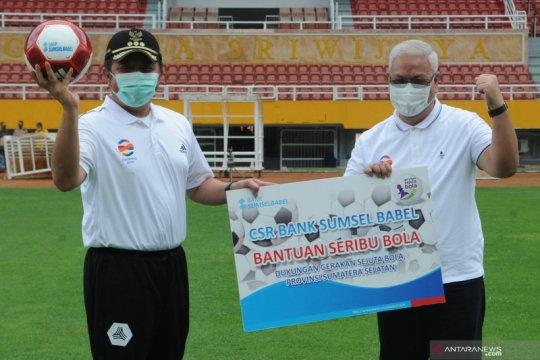 Peluncuran gerakan sejuta bola di Sumsel