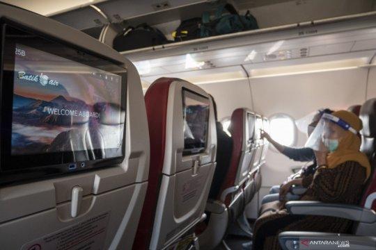 Survei: Masyarakat masih anggap cukup bahaya naik pesawat saat pandemi