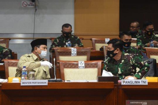 Raker pembahasan anggaran Kementerian Pertahanan dan TNI