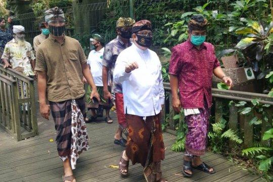 Stafsus Presiden tinjau Rumah Kompos di Padangtegal, Ubud