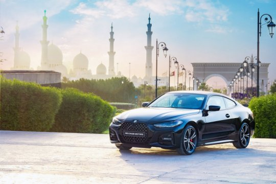 BMW 4-Series Coupe Dark Edition 2021 cuma tersedia di Uni Emirat Arab
