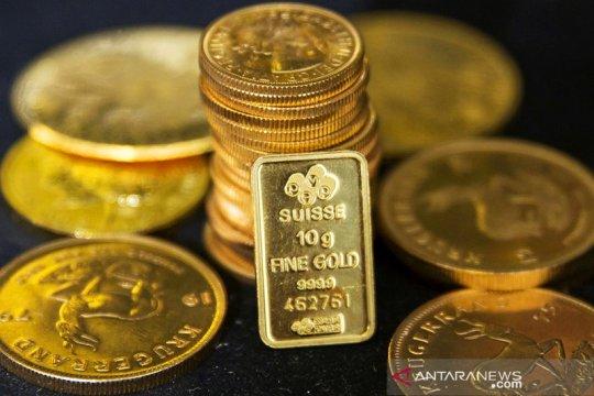 "Emas ""rebound"" setelah aksi jual saham angkat permintaan ""safe-haven"""