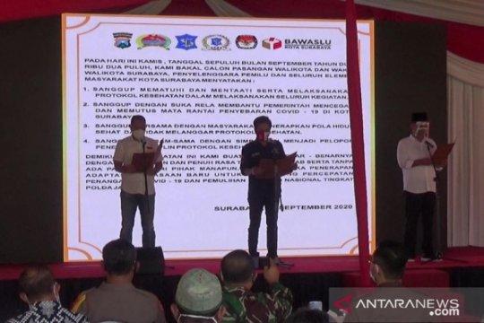 Parpol sepakat taati protokol kesehatan di Pilkada Surabaya 2020
