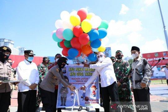 Polda Sumut bagikan dua juta lebih masker untuk masyarakat