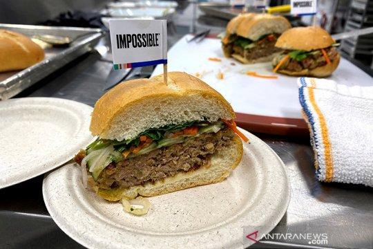 Produsen burger nabati AS akan jual sosis daging tiruan di Hong Kong
