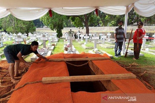Jakob Oetama dimakamkan di Blok AA nomor 339