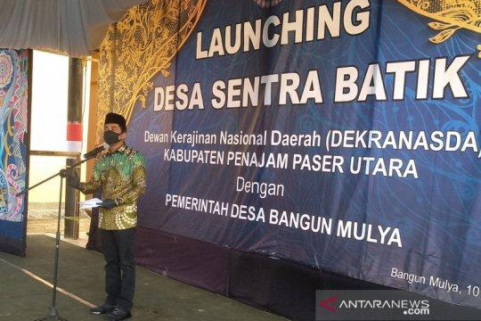 Bupati PPU luncurkan desa sentra batik