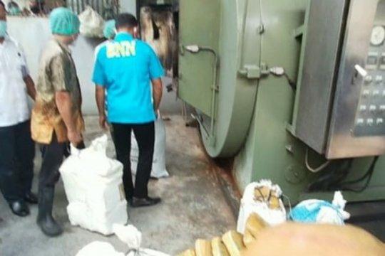 BNN Sumut musnahkan barang bukti sabu-sabu 1,4 kilogram
