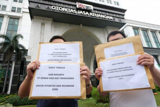 Nasabah Minna Padi minta OJK bantu percepat pembagian saham likuidasi
