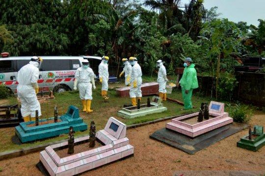 Satu pasien positif COVID-19 di Kabupaten Belitung meninggal