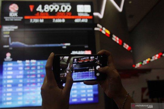 Pasar tunggu kabar stimulus AS, IHSG ditutup turun tipis