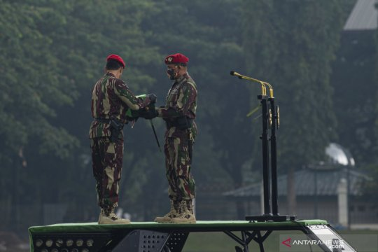 Brigjen TNI Mohamad Hasan resmi jabat Danjen Kopassus