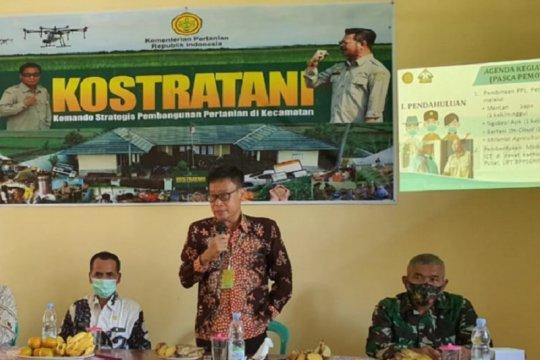 Kementan sebut Kostratani dorong produktivitas pertanian daerah