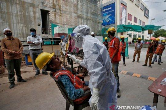 Kasus corona di India mencapai 4,85 juta